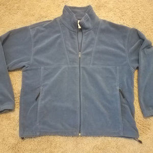 HELP RESCUE DOG *Men's Columbia Zip Fleece Jacket